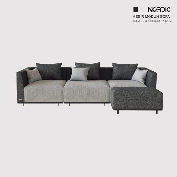 Sofa L Aesir 300 - Bản tiêu chuẩn