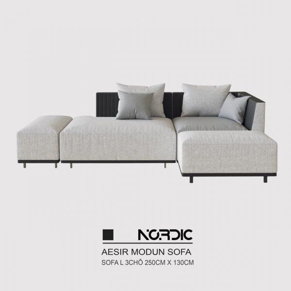 Sofa L Aesir 250 - Bản tiêu chuẩn